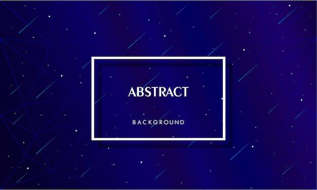 Abstrait bleu galaxie