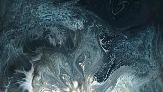 Abstrait bleu grunge aquarelle à motifs vecteur de fond