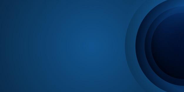 Abstrait bleu. illustration vectorielle pour la conception d'en-tête, de bannière et de présentation web