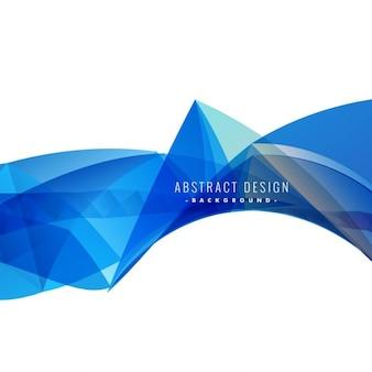 Abstrait bleu illustration
