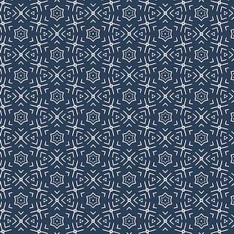 Abstrait bleu motif flabric