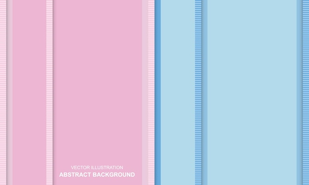 Abstrait bleu et rose couleur douce