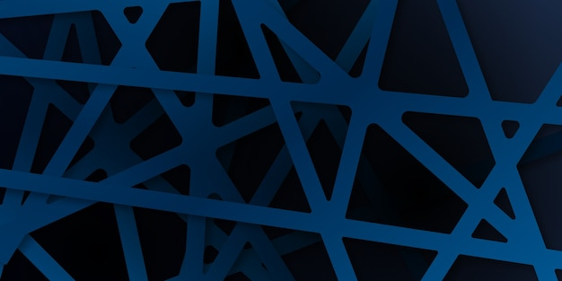 Abstrait bleu se chevauchent en diagonale. abstrait dynamique bleu marine brillant avec des lignes diagonales. fond de concept d'entreprise moderne