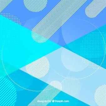 Abstrait bleu avec un style élégant