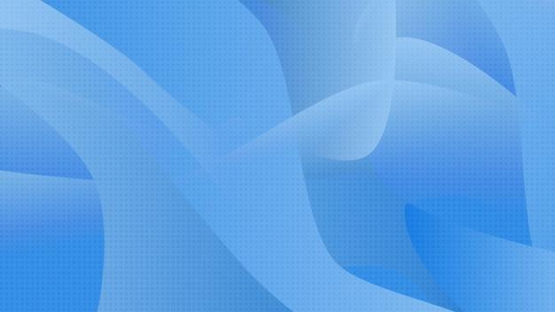 Abstrait bleu technologie fond formes