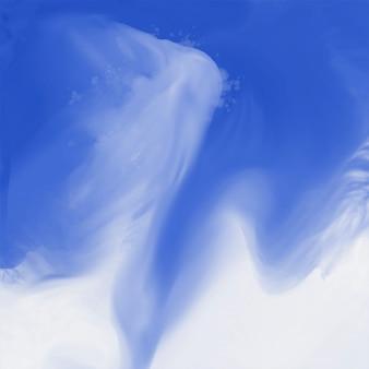 Abstrait bleu texture aquarelle fluide