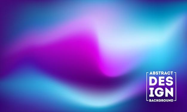 Abstrait bleu et violet flou
