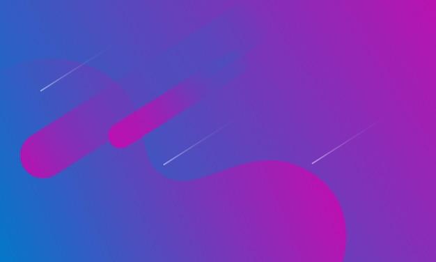 Abstrait bleu et violet moderne mise en page dynamique. conception pour de beaux sites web.
