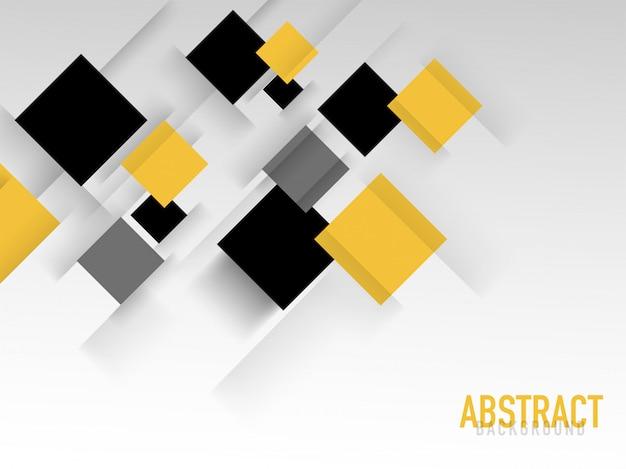 Abstrait avec des blocs carrés.