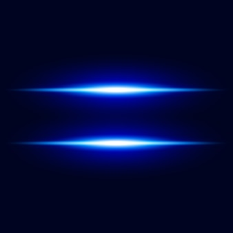 Abstrait blue light effet vector background