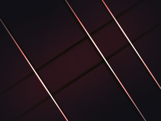 Abstrait bourgogne moderne avec des ombres et des lignes rouges.