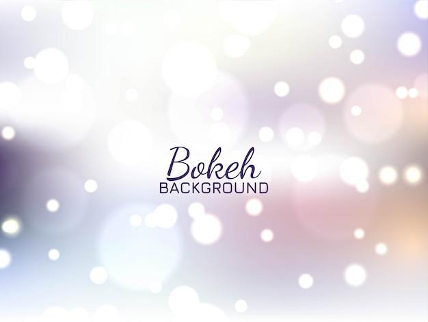 Abstrait brillant effet de lumière bokeh