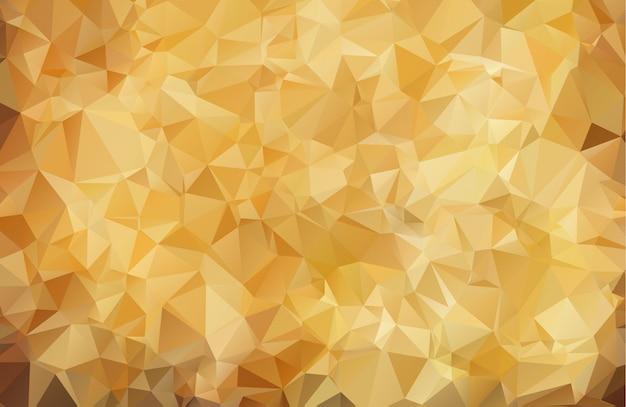 Abstrait brun de formes géométriques