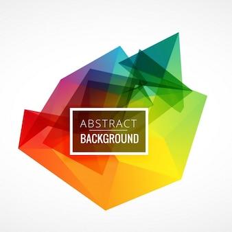 Abstrait cadre coloré fond