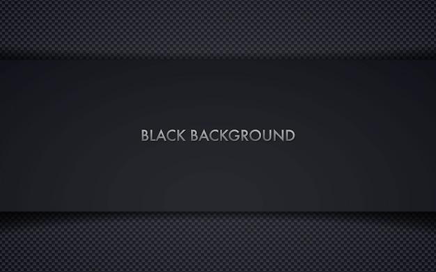 Abstrait cadre noir