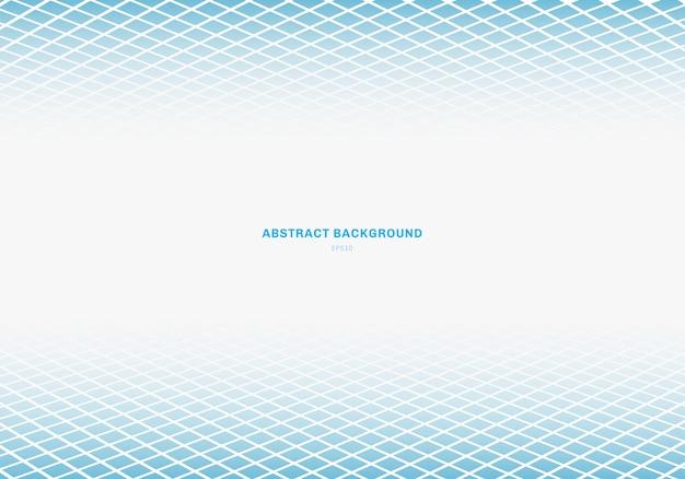 Abstrait carré bleu
