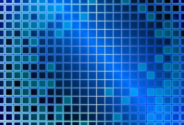 Abstrait avec des carrés de verre