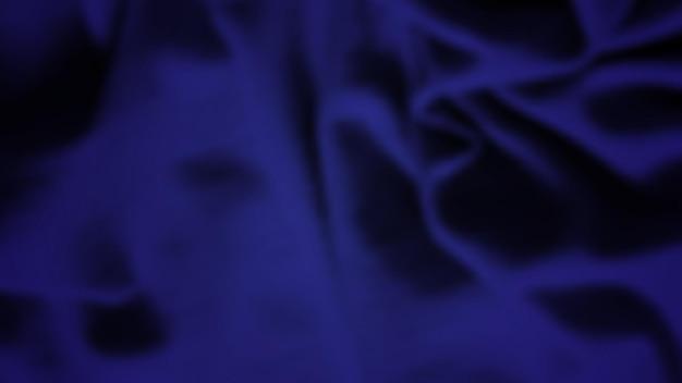 Abstrait avec chiffon froissé. texture de soie réaliste bleu foncé avec espace vide. illustration vectorielle