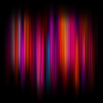 Abstrait clair avec des particules et des lignes incandescentes. fond de beaux rayons abstraits.