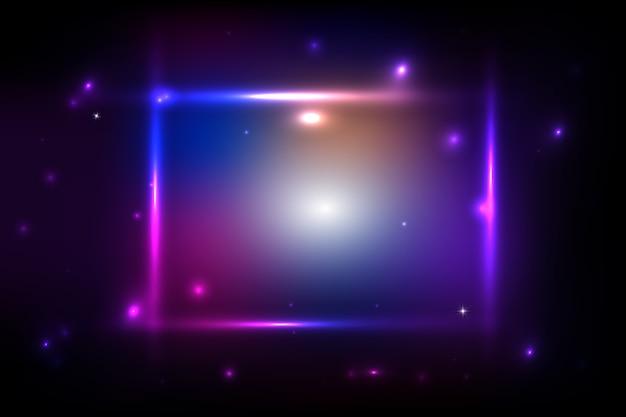 Abstrait coloré avec des bandes brillantes. abstrait avec des lumières brillantes.