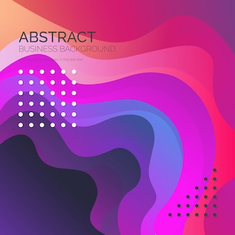 Abstrait coloré dans un style moderne