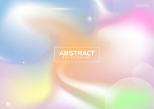 Abstrait coloré dégradé pastel fond moderne