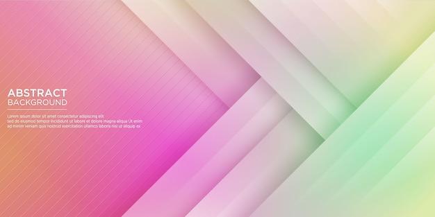 Abstrait coloré fond géométrique