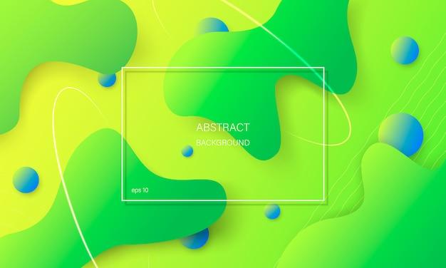 Abstrait coloré avec des formes géométriques.