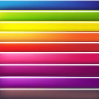 Abstrait coloré avec ligne