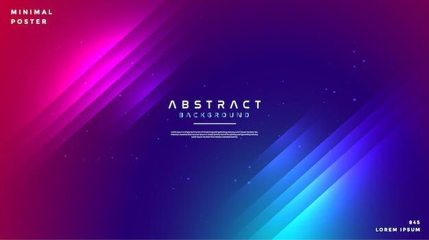 Abstrait coloré avec des lignes