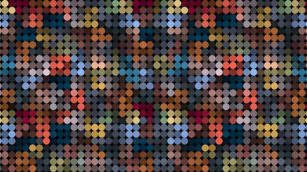 Abstrait coloré mosaïque géométrique sombre