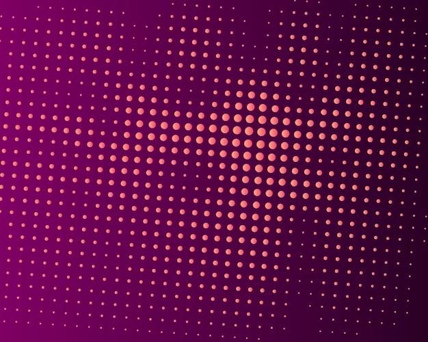 Abstrait coloré en pointillé