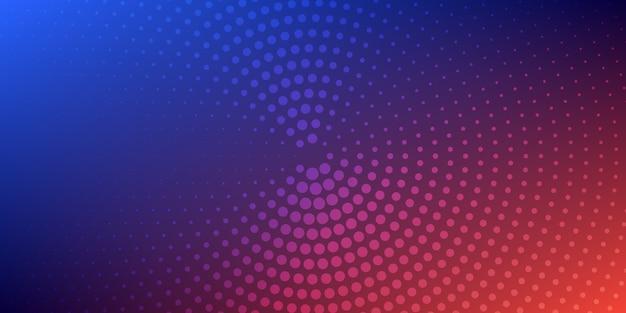 Abstrait coloré en pointillé.