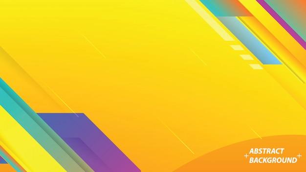 Abstrait coloré avec des rayures.