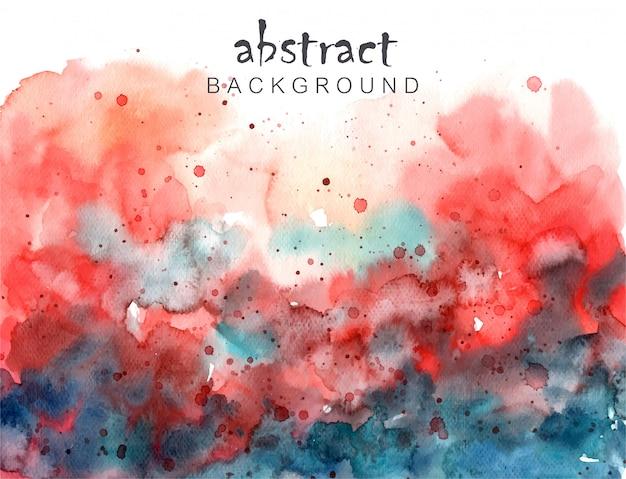 Abstrait coloré swatercolor
