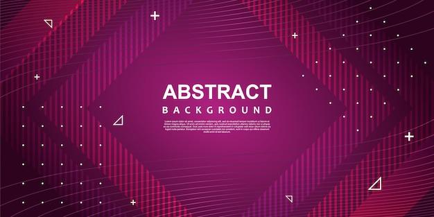 Abstrait coloré ultra violet avec memphis géométrique