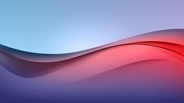 Abstrait coloré vague multicolore