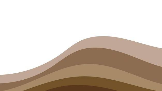 Abstrait coloré des vagues de couleur. modèle pour flyer, couverture ou bannière