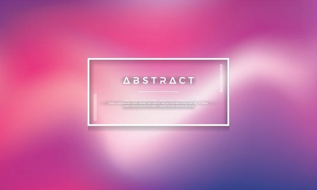 Abstrait coloré vecteur moderne