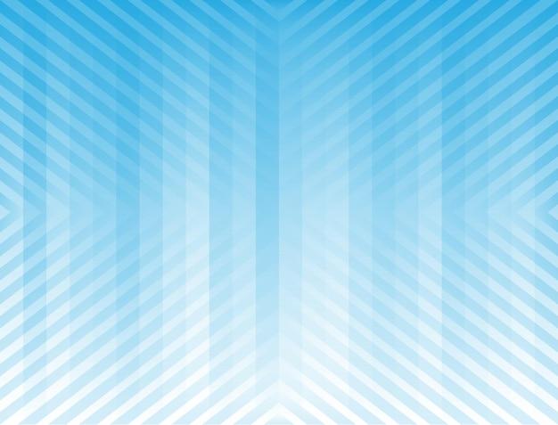 Abstrait avec une combinaison de lignes croisées bleu dégradé