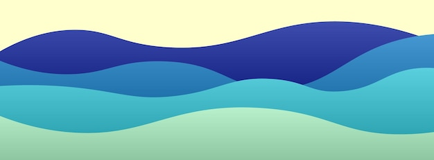 Abstrait avec conception de bannière de formes de papier découpé. illustration vectorielle.