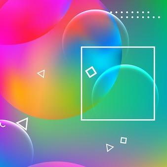 Abstrait conception géométrique minimale.