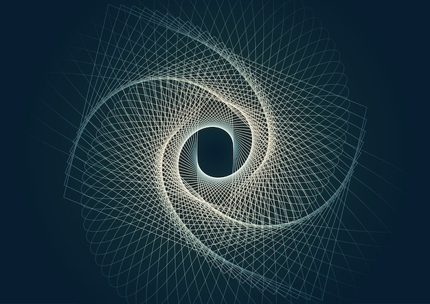 Abstrait avec conception de lignes modernes