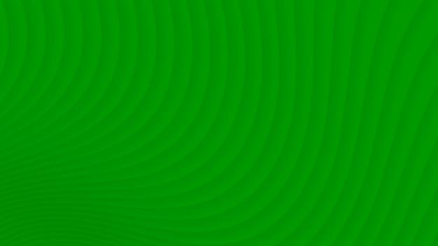 Abstrait des courbes de dégradé dans les couleurs vertes