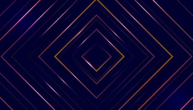 Abstrait créatif fond illusion