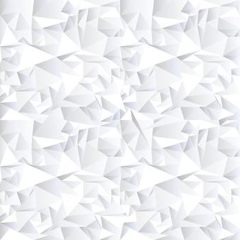 Abstrait cristal blanc