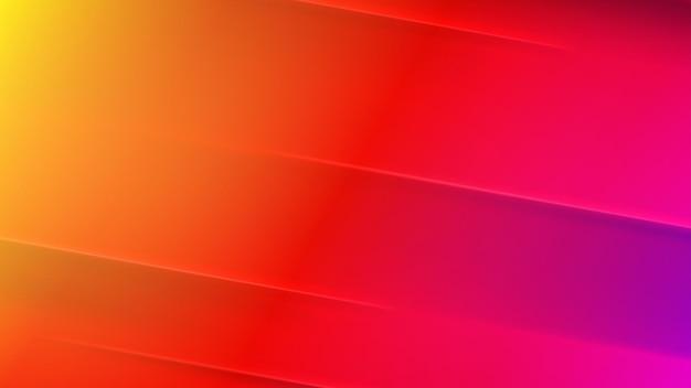 Abstrait dans les couleurs rouge, jaune et violet