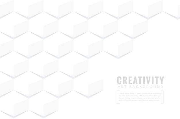 Abstrait dans un style papier