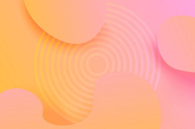 Abstrait dégradé coloré