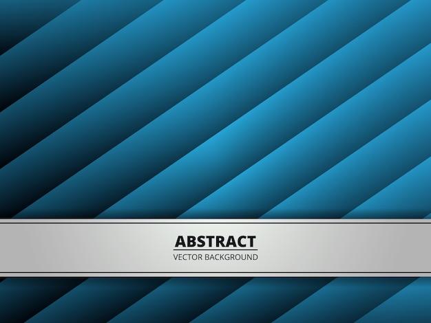 Abstrait dégradé géométrique bleu avec de la lumière. moderne
